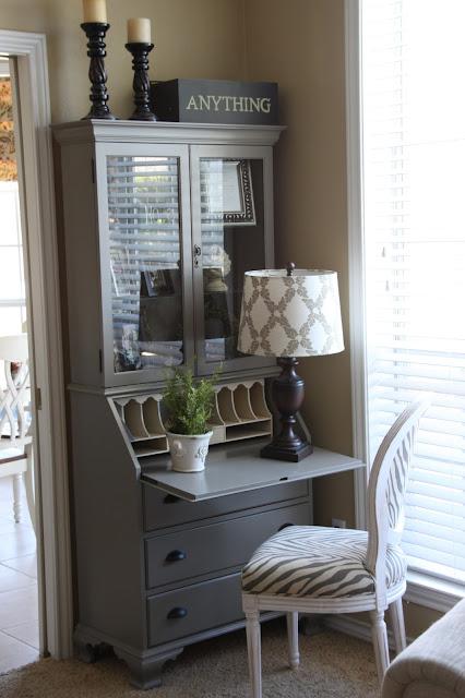 Craigslist Com Houston >> That Village House: My Painted Secretary
