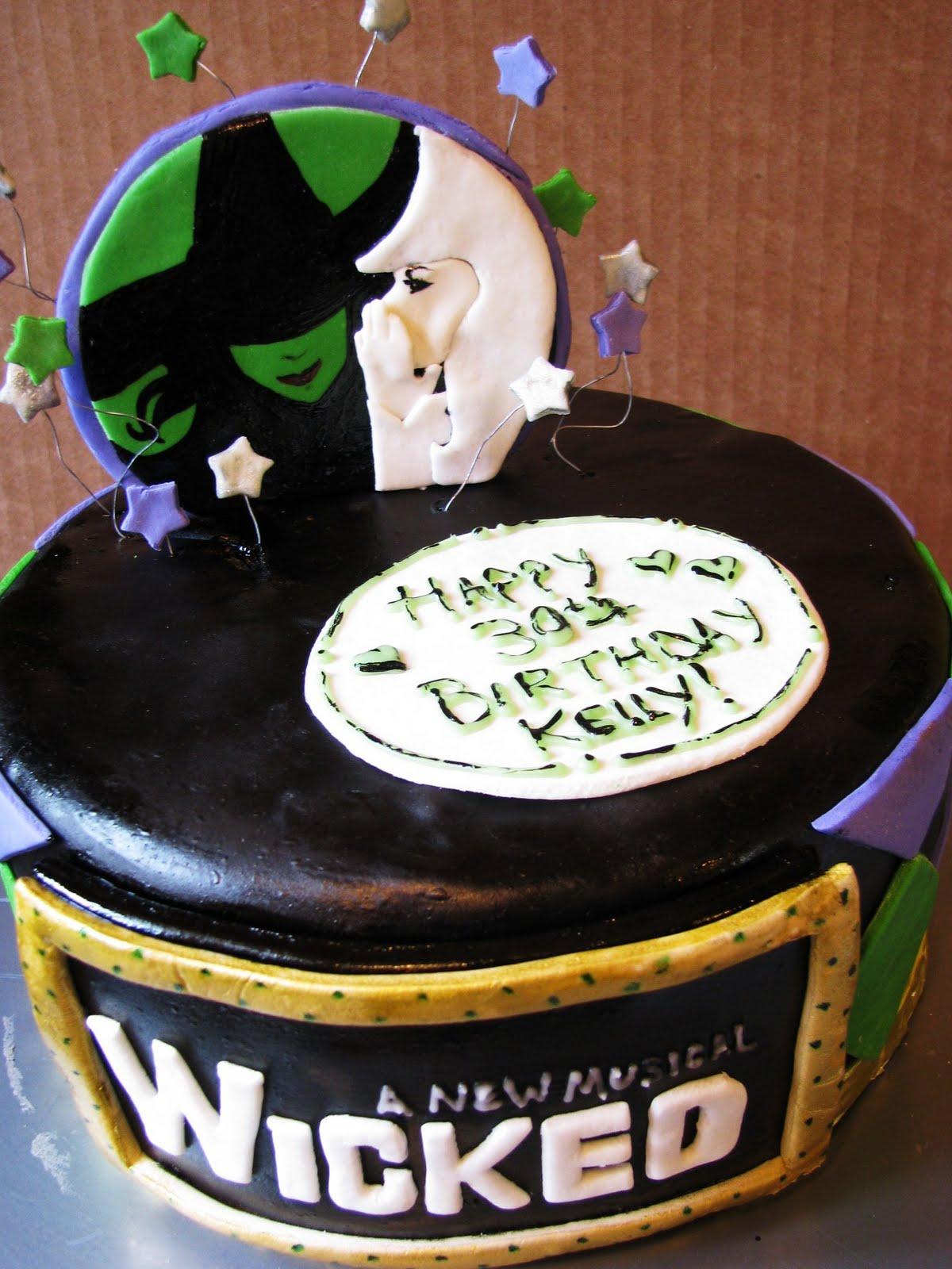 Blogging Bellatiers Wicked Birthday Cake O