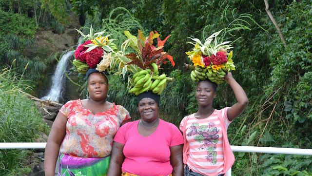 St. George Grenada fruit ladies