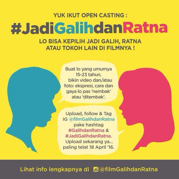 Open Casting Fim Galih dan Ratna