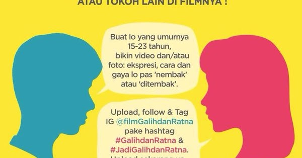 Open Casting Fim Galih dan Ratna | Info Casting I Cara Jadi