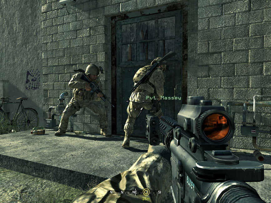 1 44 Gb Download Call Of Duty Modern Warfare 4 For Pc In