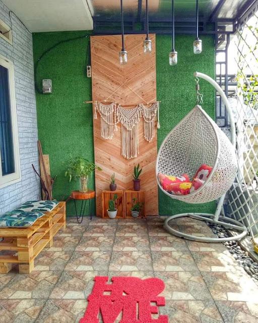 Contoh Teras Rumah Minimalis Tipe 45 Sederhana