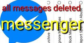 Inilah Cara Menghapus Foto di Facebook Messenger
