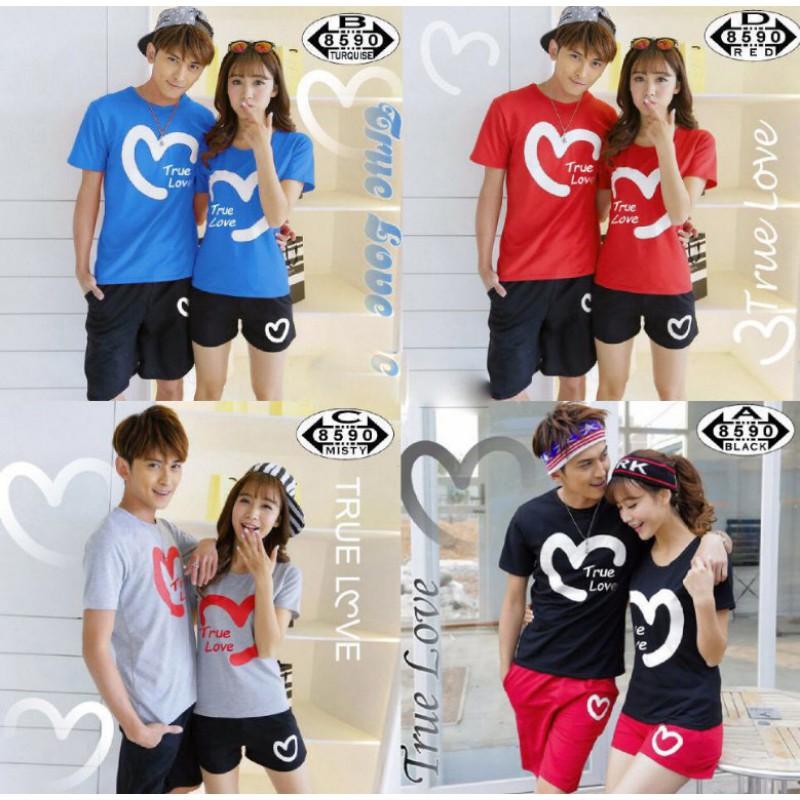 Jual Online CS True Love Murah Jakarta Bahan Combed Terbaru
