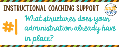 1. What structures does your administration already have in place?