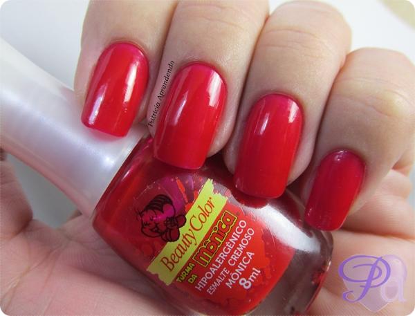 Esmalte Beauty Color Mônica Hipoalergênico