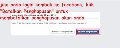 Cara Hapus Akun Facebook Secara Permanen