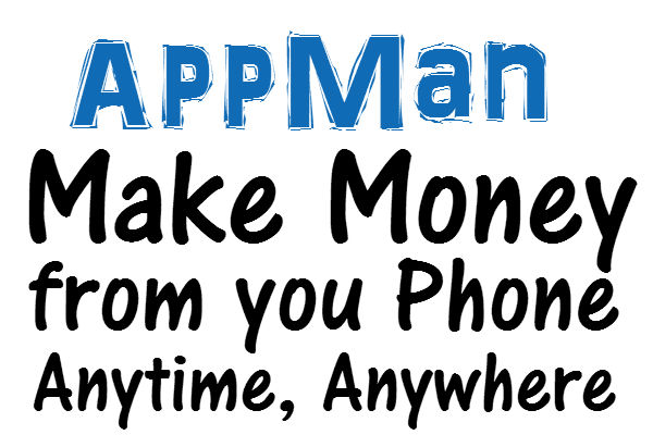 AppMan Sign up Bonus, 50 Bonus Credits AppMan App Referral Link 2016