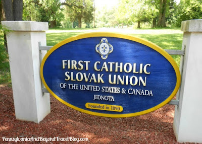 First Catholic Slovak Union Jednota Memorial in Middletown Pennsylvania