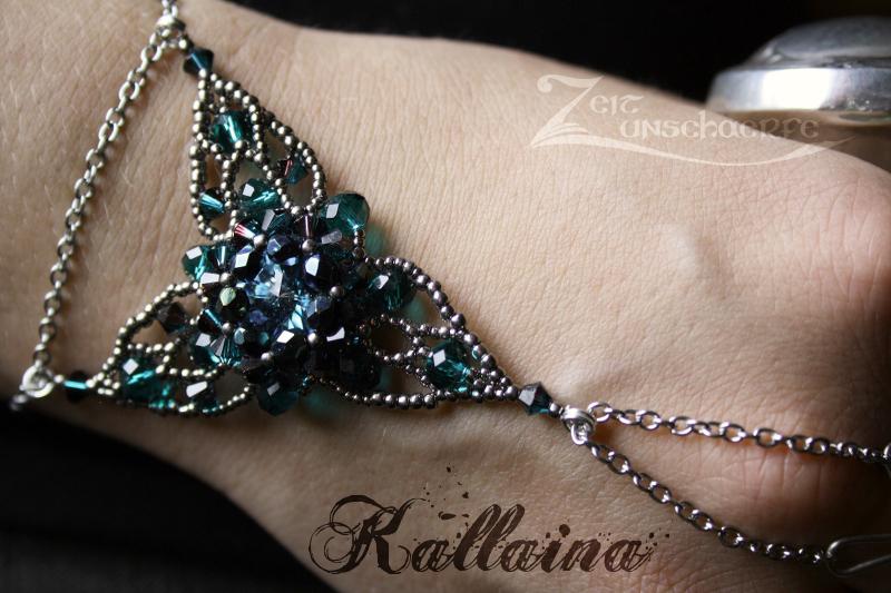 Kallaina Armband mit Slavering by Zeitunschaerfe