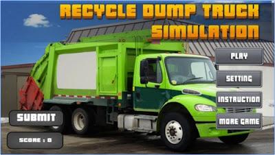game recyle dump truck simulator