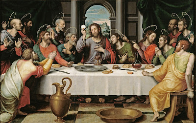 The Holy Eucharist At The Last Supper
