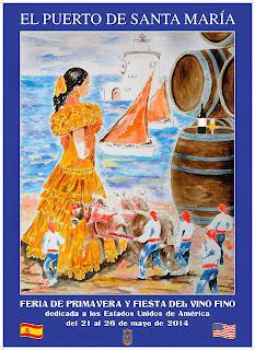 Feria de Primavera y Fiesta del Vino Fino 2014 - El Puerto de Santa María