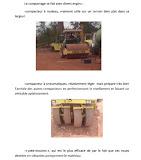 Terrassement et Certification de matériaux pour la couche de forme