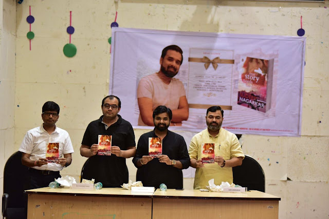 Author Sudeep Nagarkar has launched his new book Our Story Needs No Filter
