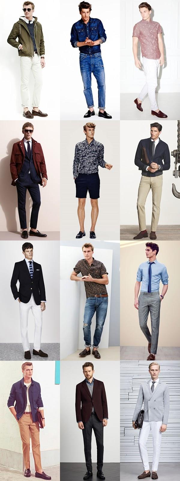 Kết hợp quần với giày nam da bóng