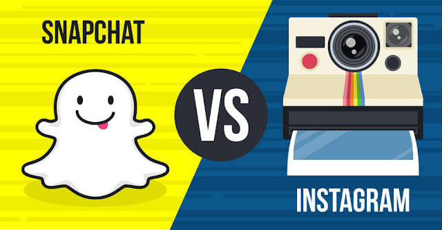 Snapchat Vs Instagram, Snapchat, Instagram, Best Social Media Platform, Social Media, Business, Marketing, Internet Marketing, Social Media Marketing