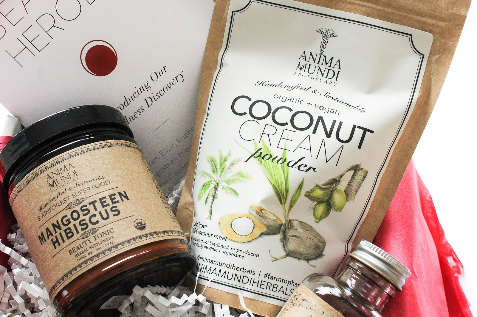 Beauty Heroes Anima Mundi Wellness Discovery. Coconut Cream Powder.