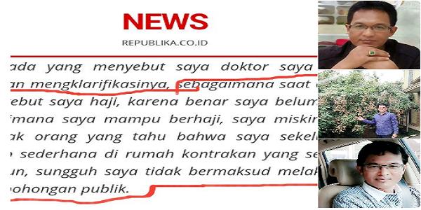Ishomuddin Ngaku Miskin, Netizen Ini Beberkan Bukti MENCENGANGKAN!!