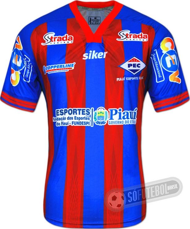 Siker apresenta novas camisas do Piauí - Show de Camisas 42ce21f9f1469