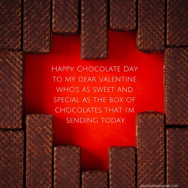 Happy Chocolate Day Wishes 2019