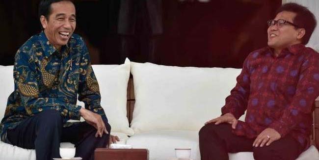 PKB Berharap Digandeng Jokowi Pencapresan Pemilu 2019