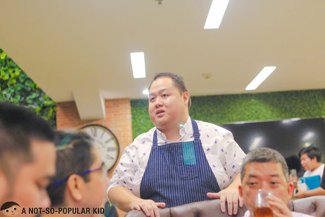 Chef Decker Gokioco of U Hotels