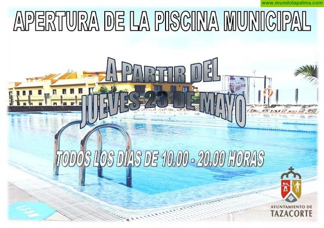 Apertura de la Piscina Municipal de Tazacorte