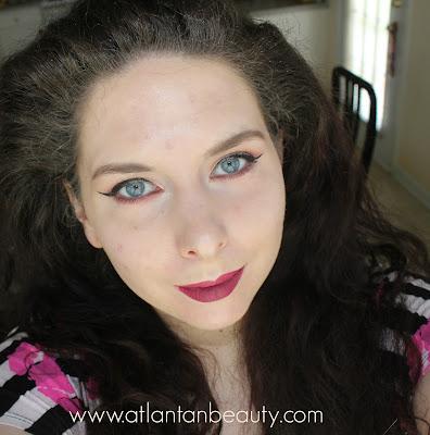 FOTD Using Makeup Geek Eyeshadows