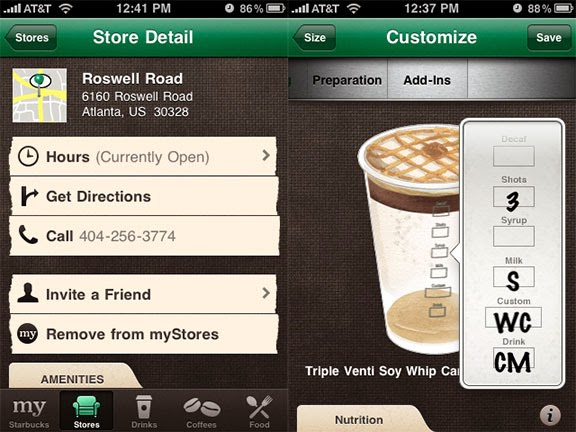 Why did Starbucks shut down its online store?
