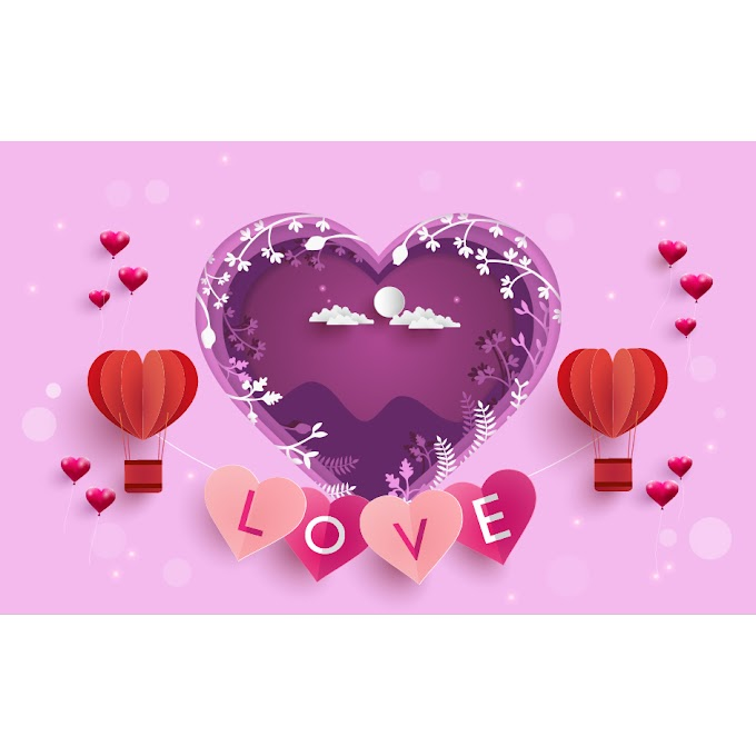 Creative valentines day greeting card free vector