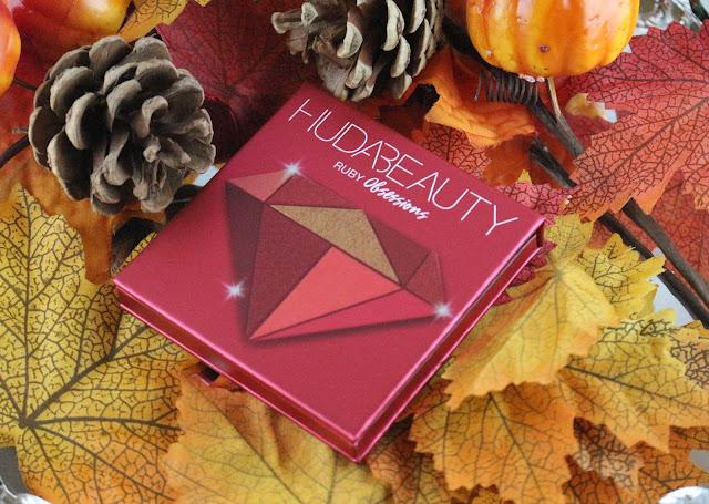 Huda beauty Ruby obsessions / La précieuse