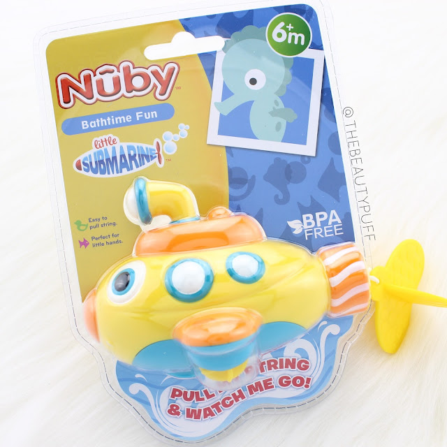 Nuby Little Submarine  |  The Beauty Puff