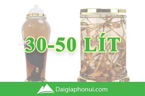Bình Ngâm Rượu Hàn Quốc (Yongcheon Glass) 30-50 Lít - Dai Gia Pho Nui