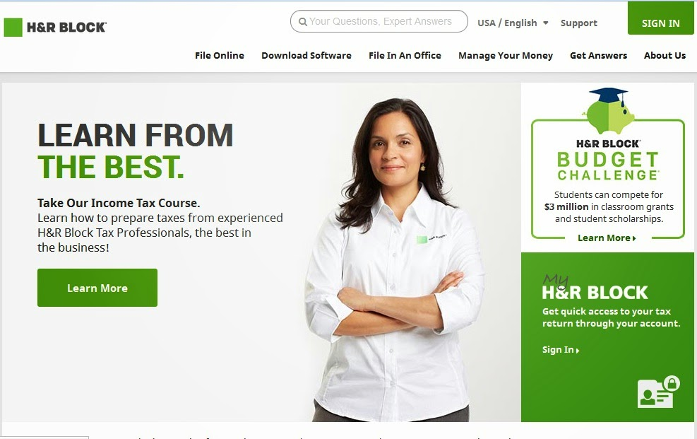 h&r block business software