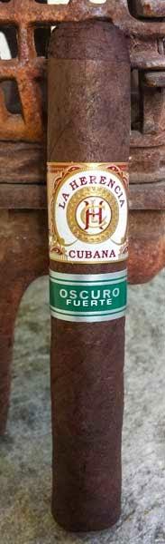 La Herencia Cubana Oscuro Fuerte Robusto