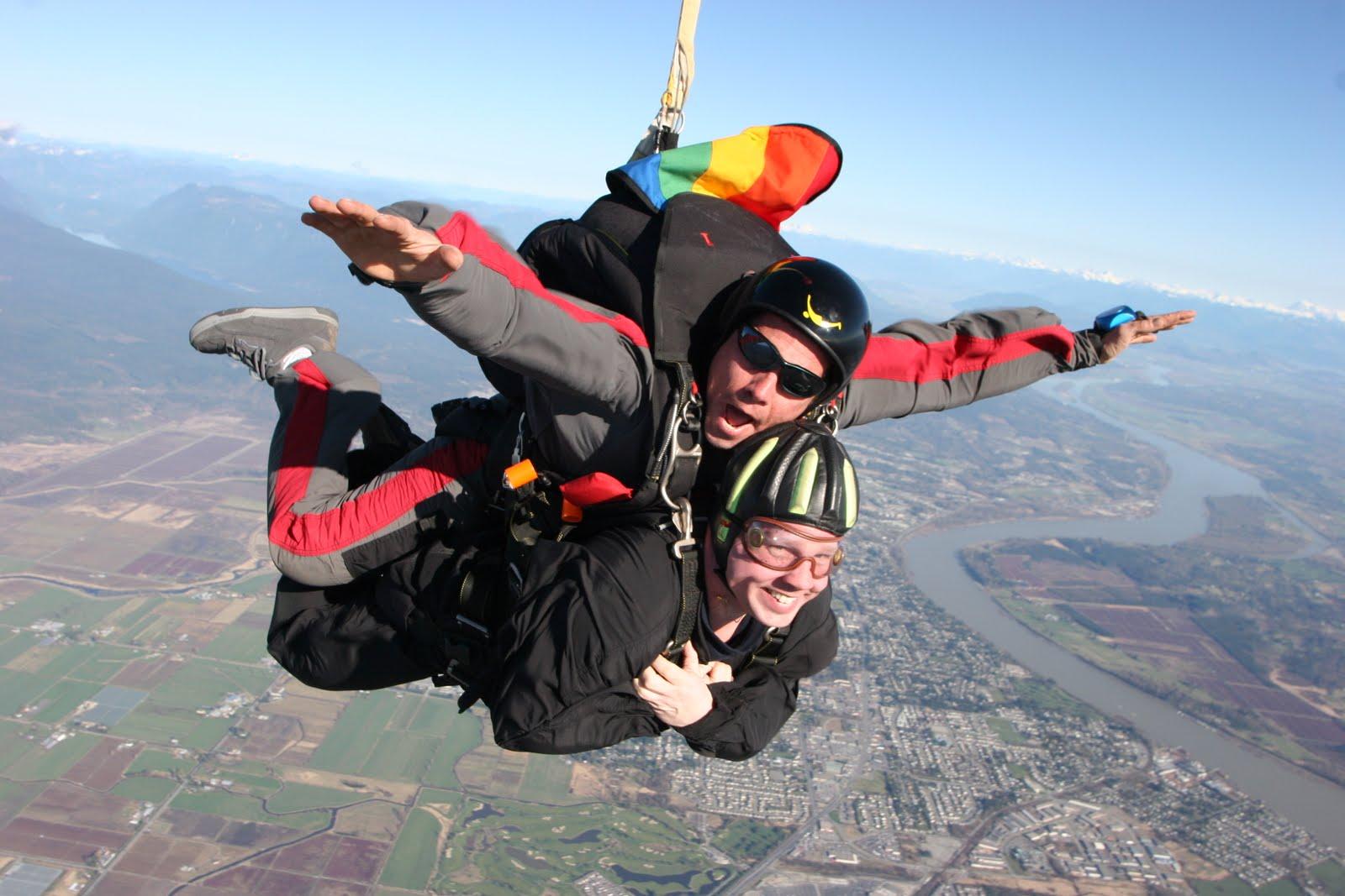 Jean-Pierre(J-P) FOREST, CPP: Dean Brassington Goes Skydiving