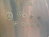 A variety of cogs