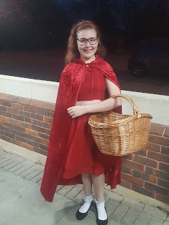 Top Ender as Little Red Riding Hood