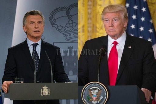 """Macri y Trump se reúnen el 27 de abril para """"continuar lazos"""""""