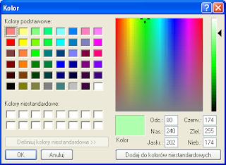 Atmel Studio - Ustawianie kolorów komentarzy.