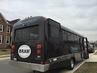 Brambleton Community Association now has a bus to transport residents to and from events in the community.