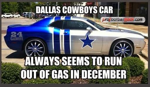 22 meme internet dallas cowboys car always seems to run out of gas in december. Black Bedroom Furniture Sets. Home Design Ideas