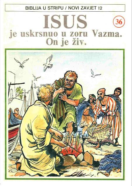 Novi Zavet 12 - Biblija u Stripu