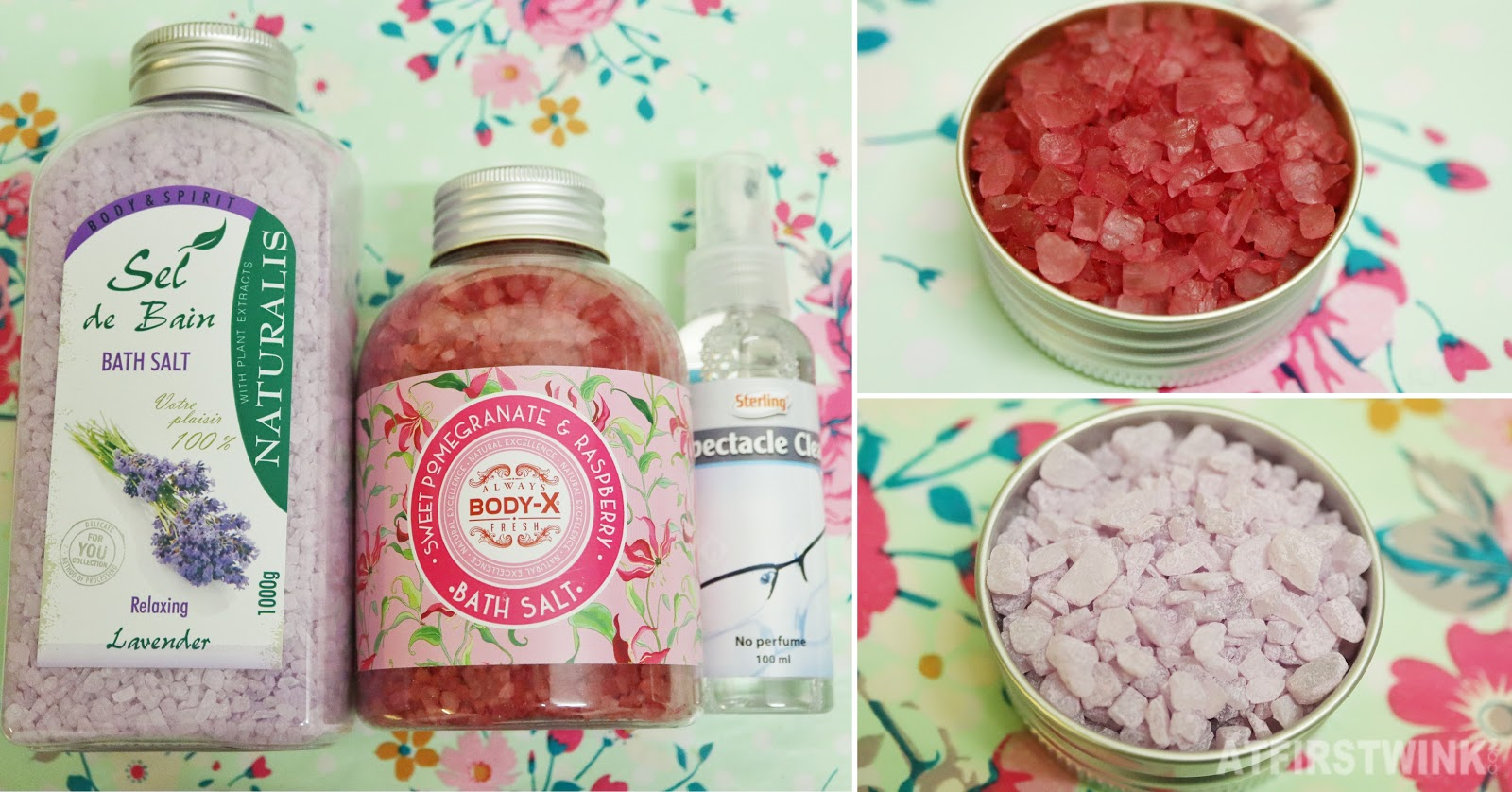 Normal store utrecht  naturalist lavender bath salt body-x sweet raspberry pomegranate glasses cleaner