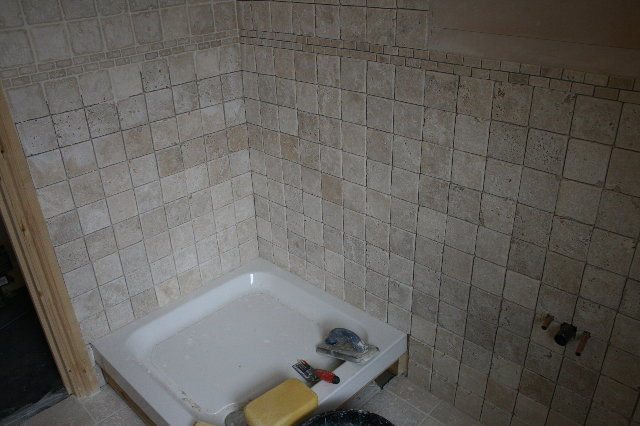 w i t w i m loft bathroom under construction. Black Bedroom Furniture Sets. Home Design Ideas