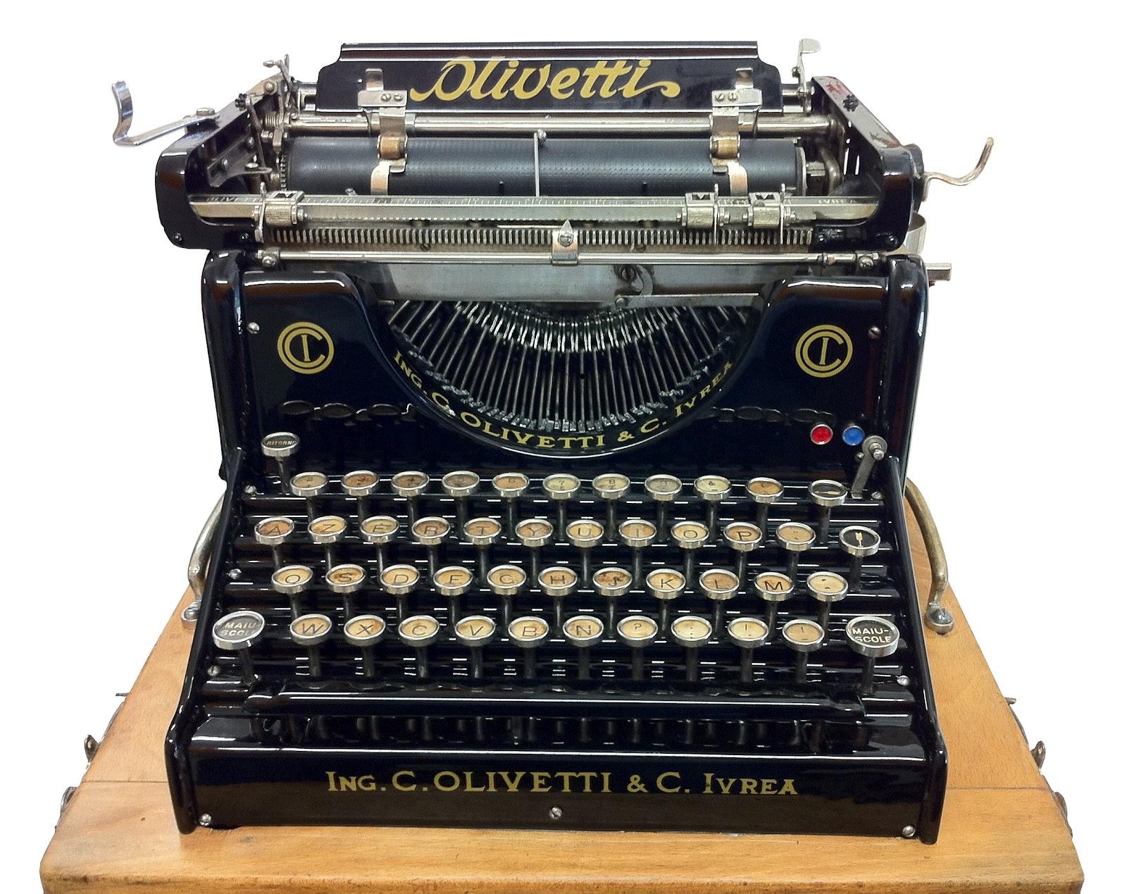 Macchine da scrivere: come ripararle, come fare ...