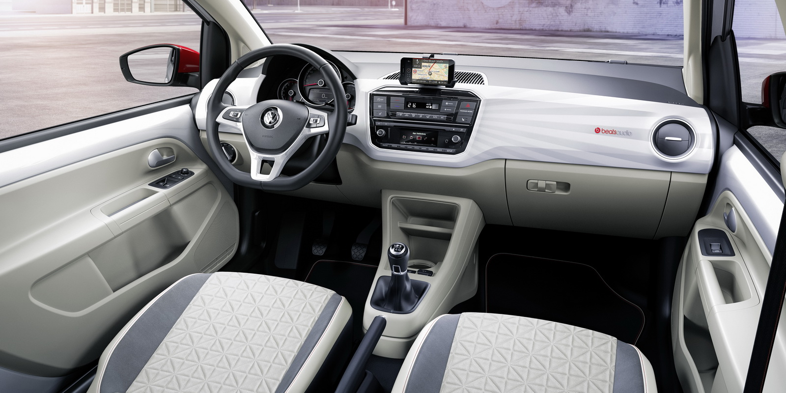 new beats audio 300w system brings the noise in vw s up and polo carscoops. Black Bedroom Furniture Sets. Home Design Ideas