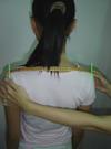 Vietnamiens adapter Ao Dai robe épaules: